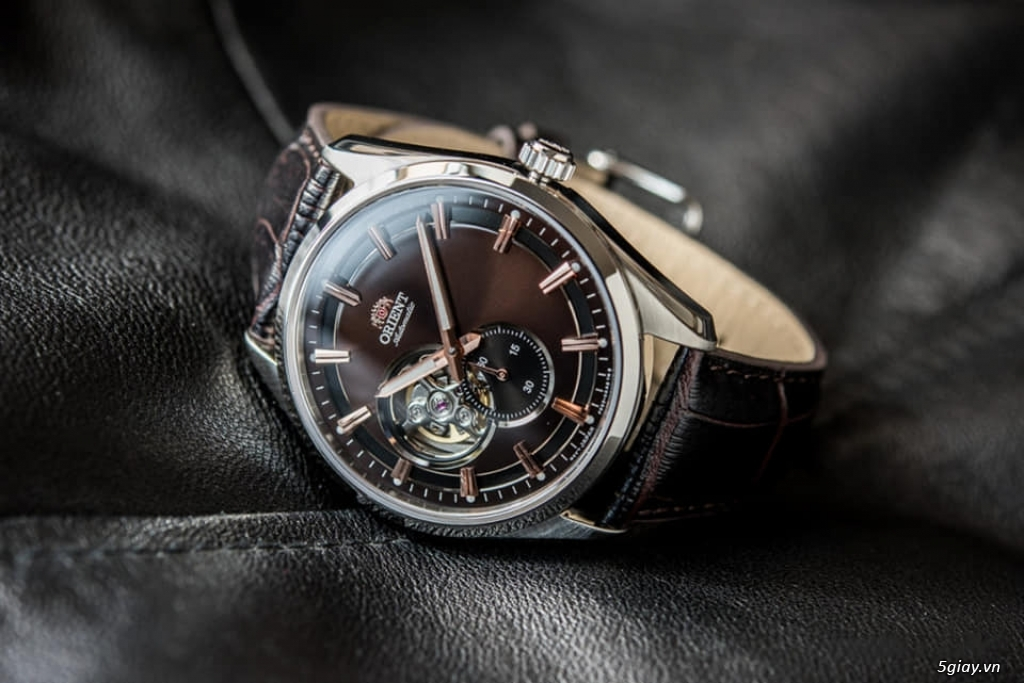Orient Small Second Open Heart - 6