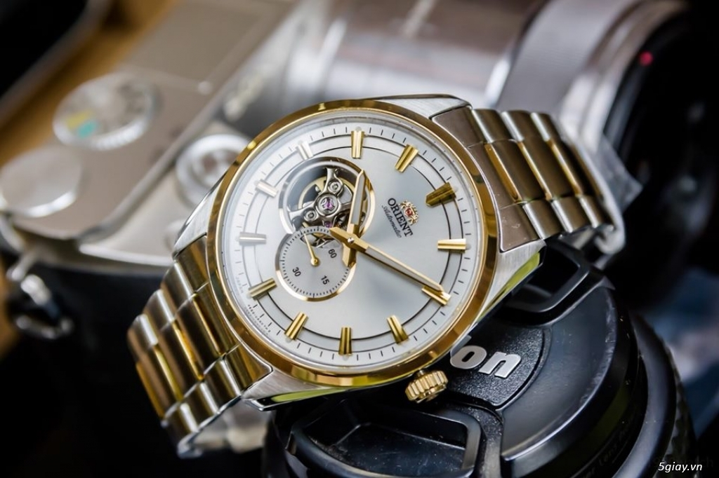 Orient Small Second Open Heart - 11