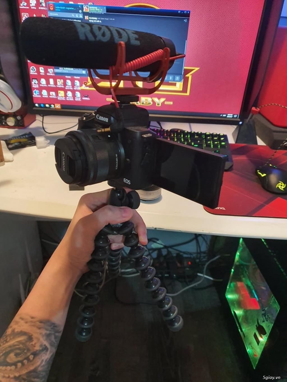 Canon m50 full set vlog camera (mic Rode + lens 22f2+thẻ+JOBY3k )rẻ!! - 2