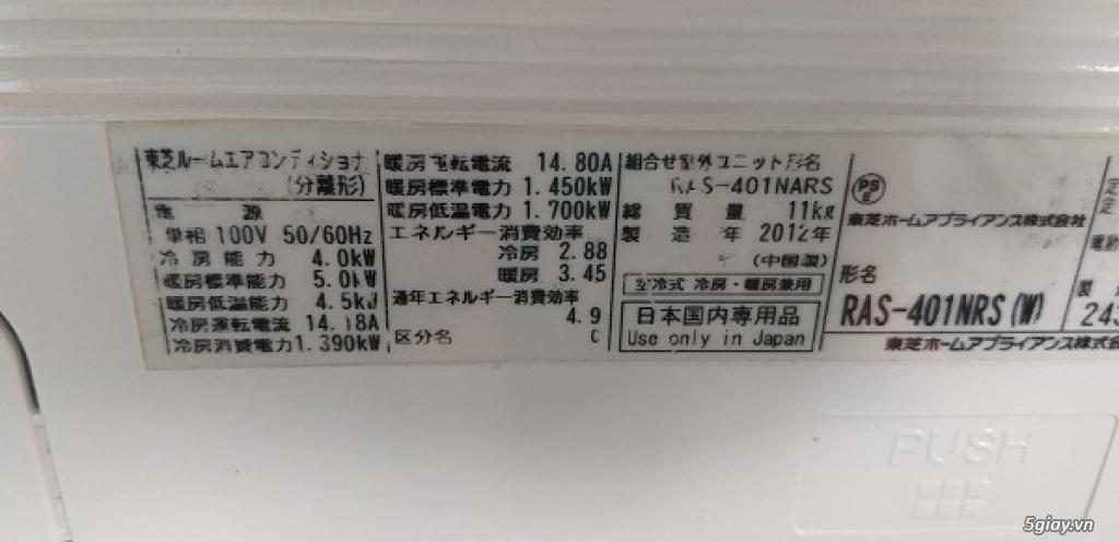 Máy lạnh cũ nội địa nhật Toshiba vào mùa mưa bão - 6