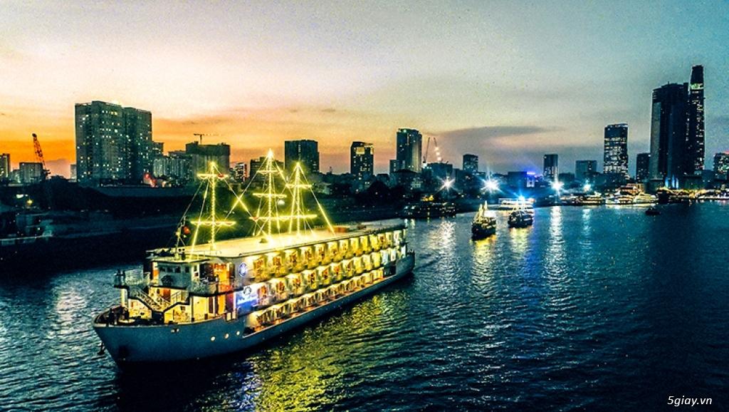 Lễ Hội Bia Đức Trên Sông Sài Gòn | Lần Đầu Tiên Tại VN | Du Sông - 2