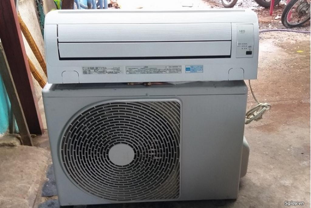 Máy lạnh cũ nội địa nhật Toshiba vào mùa mưa bão - 4