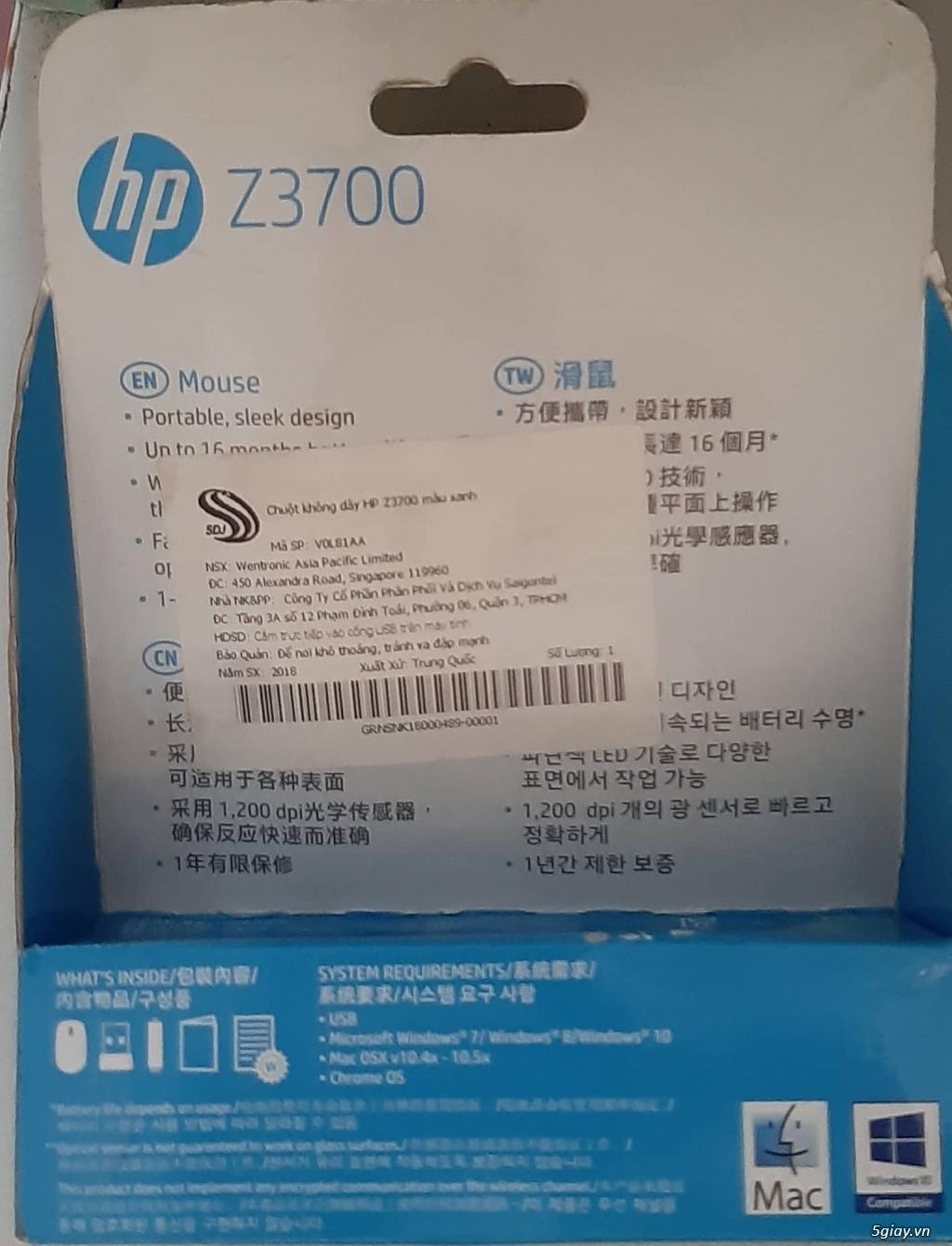 Chuột không dây HP Z3700 - 1