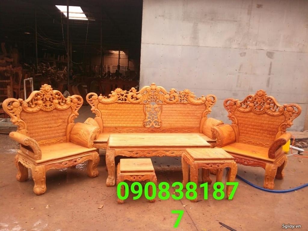 salon phòng khách gỗ quý giá cực rẻ ( xem hàng tại xưởng ) - 31