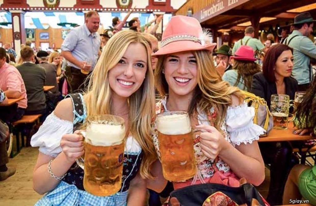Lễ Hội Bia Đức Trên Sông Sài Gòn | Lần Đầu Tiên Tại VN | Du Sông