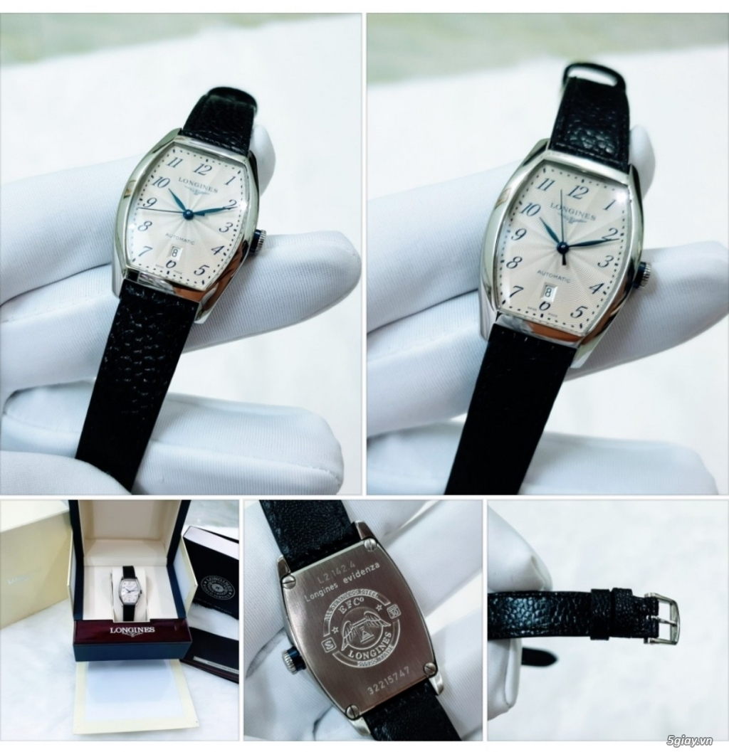 Phúc-Đồng Hồ (BUY & SELL AUTHENTIC WATCHES) Longines-Omega-Tissot-... - 1