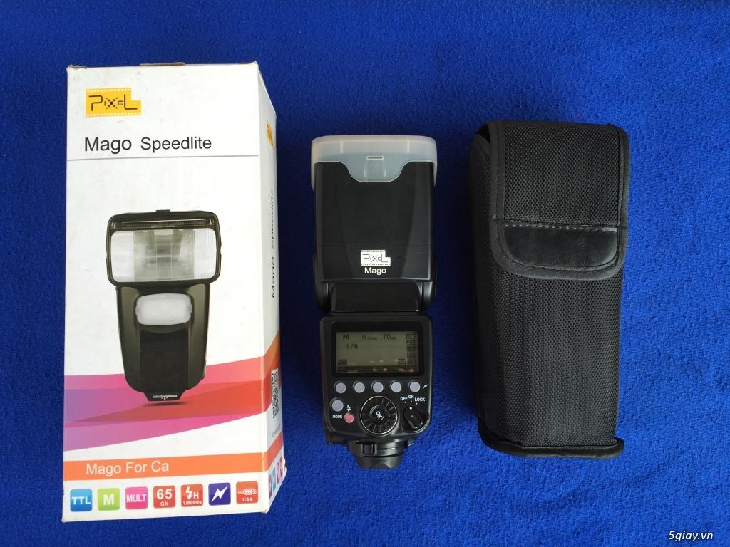 [BÁN] Canon 6D, lens 85 f/1.8, Flash Pixel Mago [tất cả Full Box] - 1