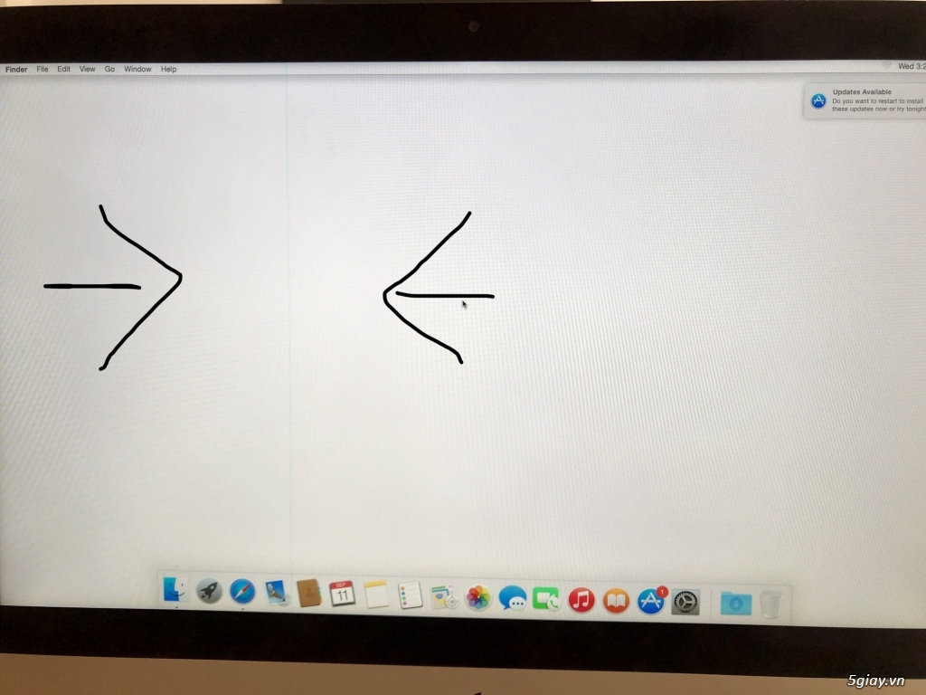 iMac 21.5inch-2012 HDD 750gb dành cho sinh viên