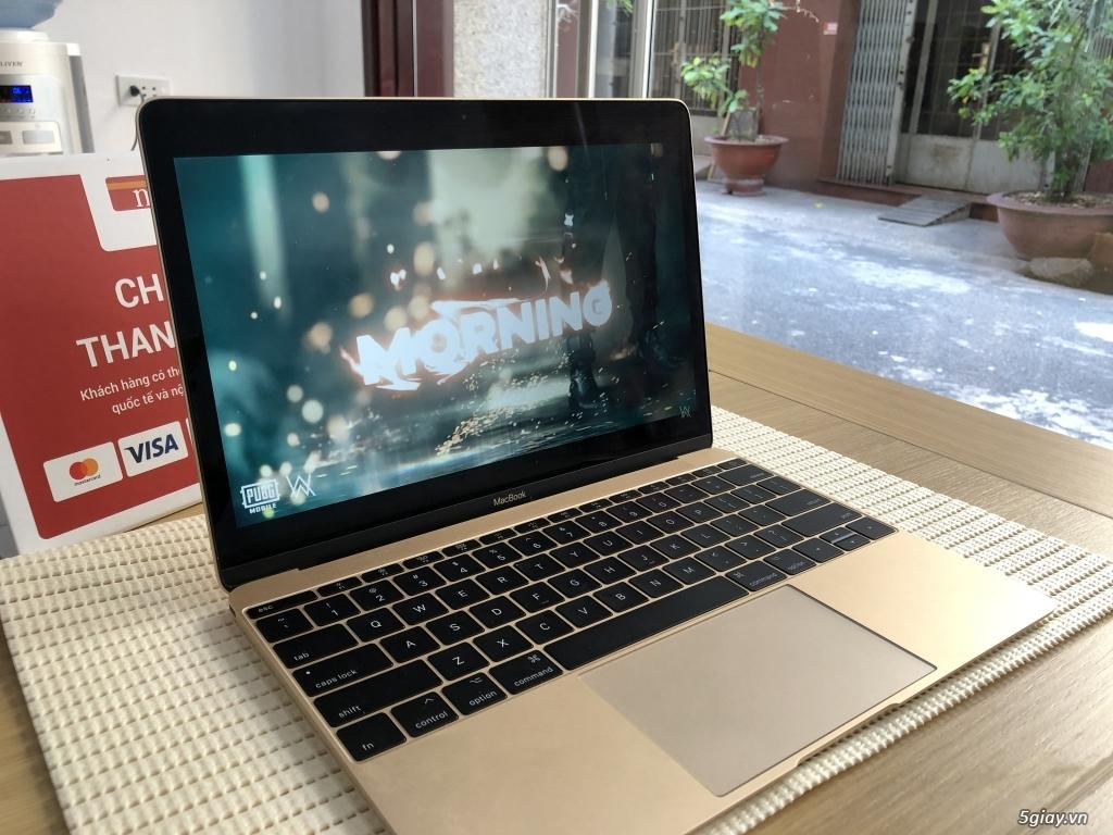 Bán New MacBook 12 Inch 2017 - 256Gb - Gold - MNYK2 99% Fullbox - 3