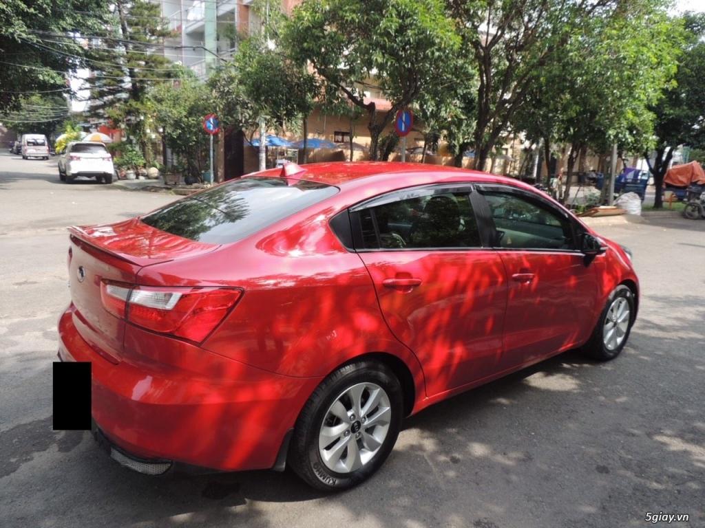 KIA RIO 1.4 AT, nhập khẩu, màu đỏ Sx 2015