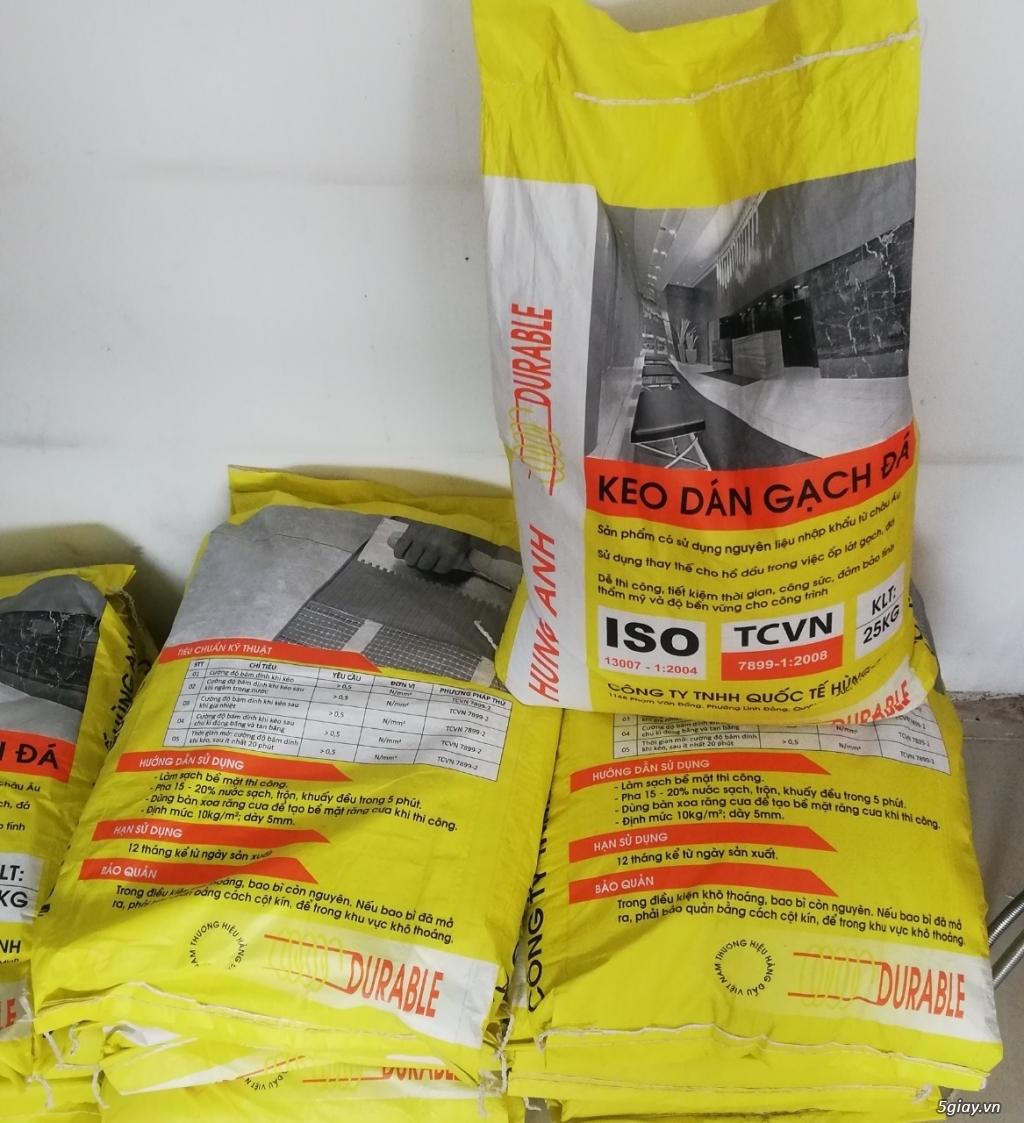 Keo dán gạch đá Durable sản phẩm được ưa chuộng nhất hiện nay