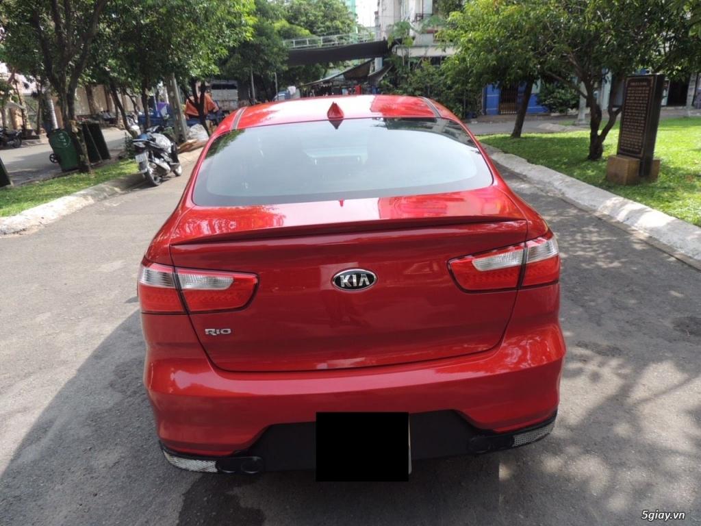 KIA RIO 1.4 AT, nhập khẩu, màu đỏ Sx 2015 - 2