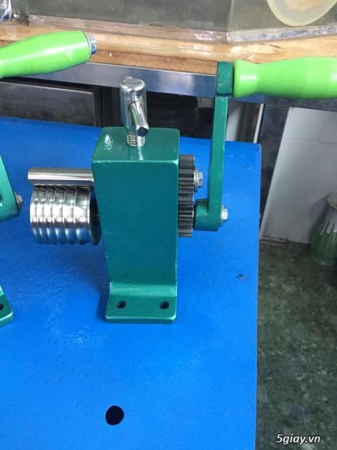 HCM-  Nhận gia công các loại máy Cán Vàng - cán chữ trên Nhẫn VÀNG 24K - 20