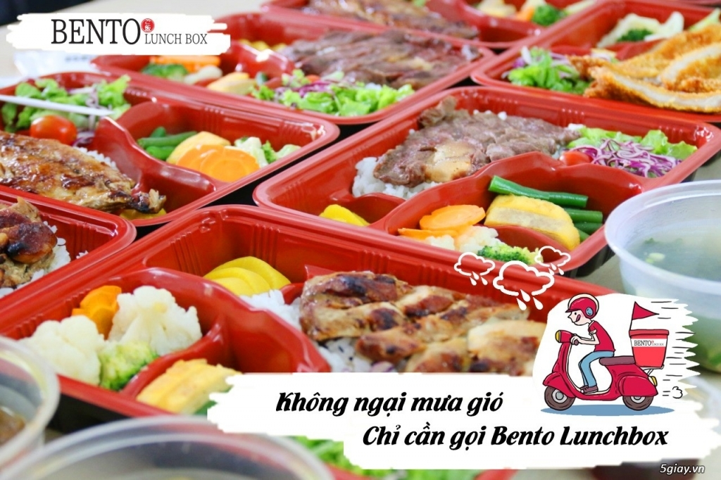 Bento Lunchbox- Cơm phong cách Nhật chuẩn giá Việt