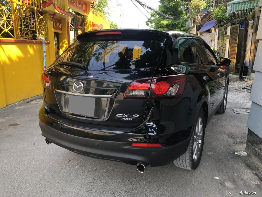 Bán Mazda CX9 màu đen 2014 xe chính chủ đi kỹ. - 6