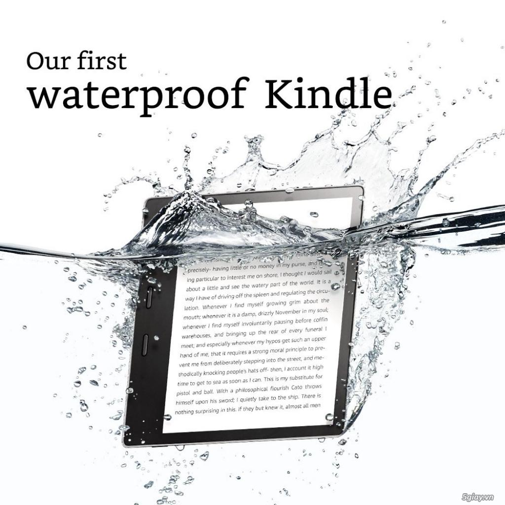 Máy đọc sách Kindle Oasis 8Gb Wifi 9th ( màu Graphite ) New 100% - 7