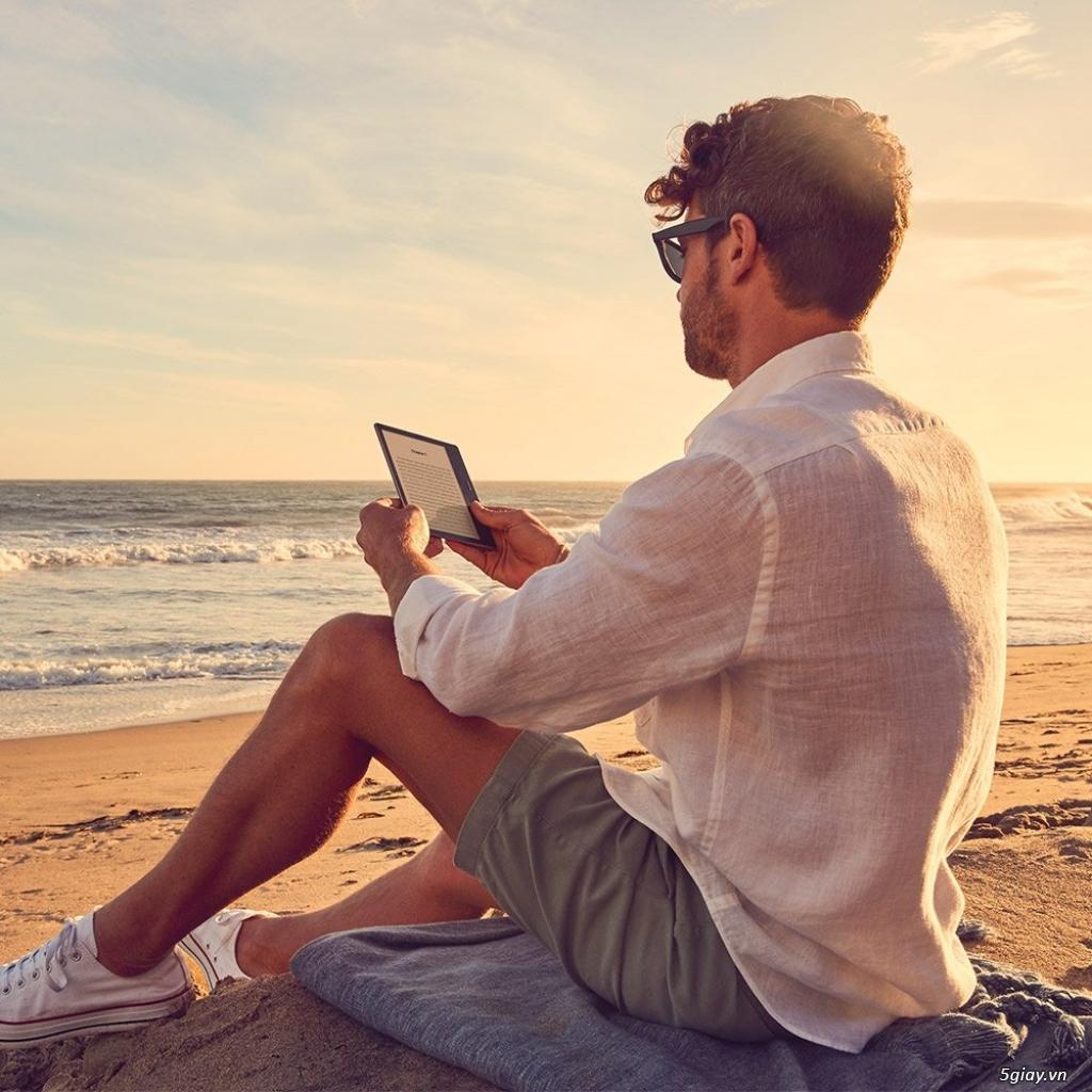 Máy đọc sách Kindle Oasis 8Gb Wifi 9th ( màu Graphite ) New 100% - 8