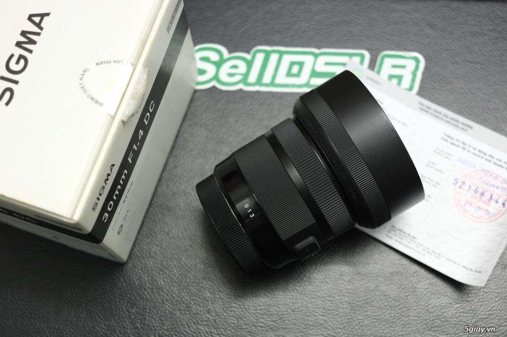 Canon 35F1.4 / 70-200F4 / 70-200F2.8 / Sigma 85 ART / 35 ART / 30 ART - 22