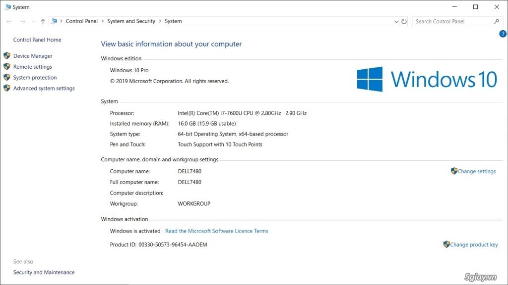 Cần bán: Dell 7480 core i7, QHD cảm ứng, MOD khủng. - 2