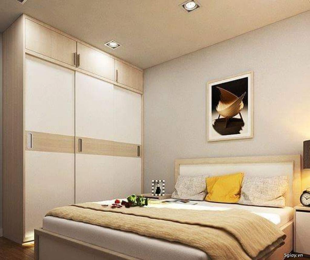 Tủ áo - tủ âm tường ,Tủ áo acrylic,Tủ quần áo laminate chống trầy - 9