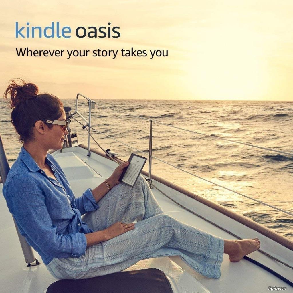 Máy đọc sách Kindle Oasis 8Gb Wifi 9th ( màu Graphite ) New 100% - 9
