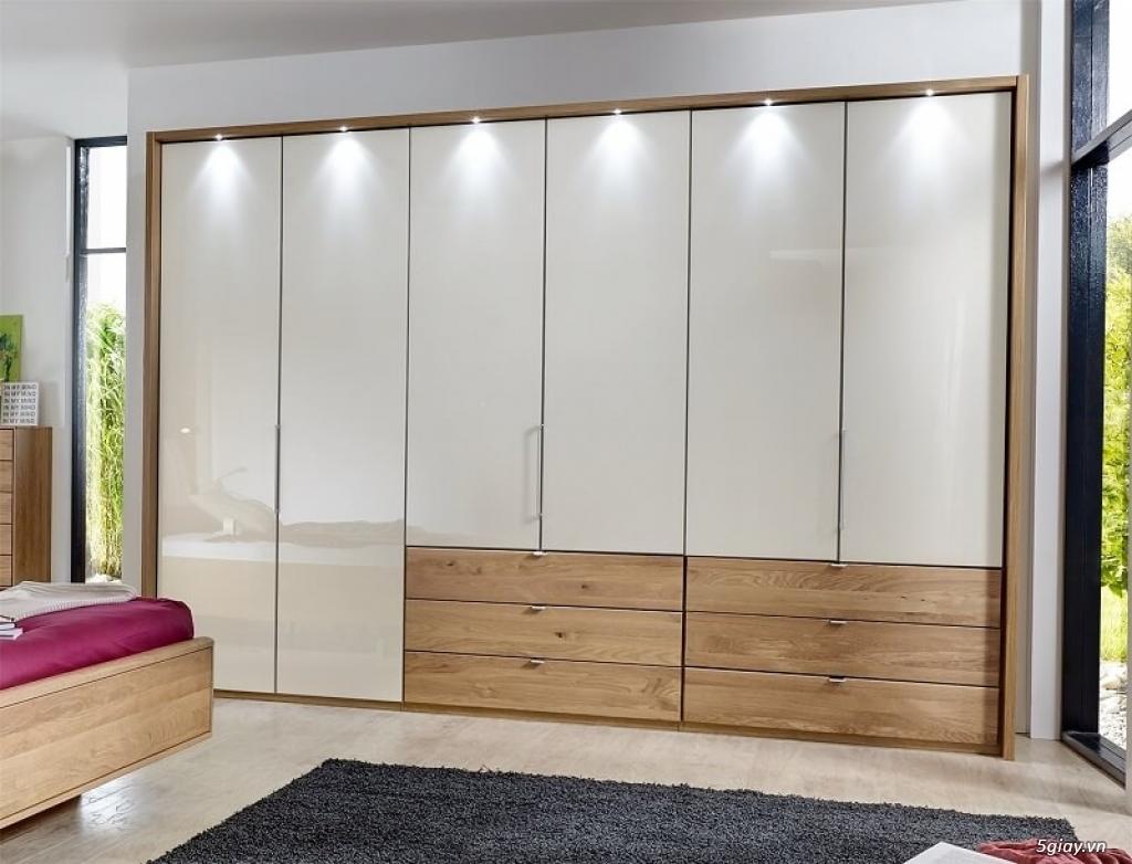 Tủ áo - tủ âm tường ,Tủ áo acrylic,Tủ quần áo laminate chống trầy - 14