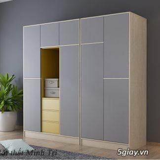 Tủ áo - tủ âm tường ,Tủ áo acrylic,Tủ quần áo laminate chống trầy - 13