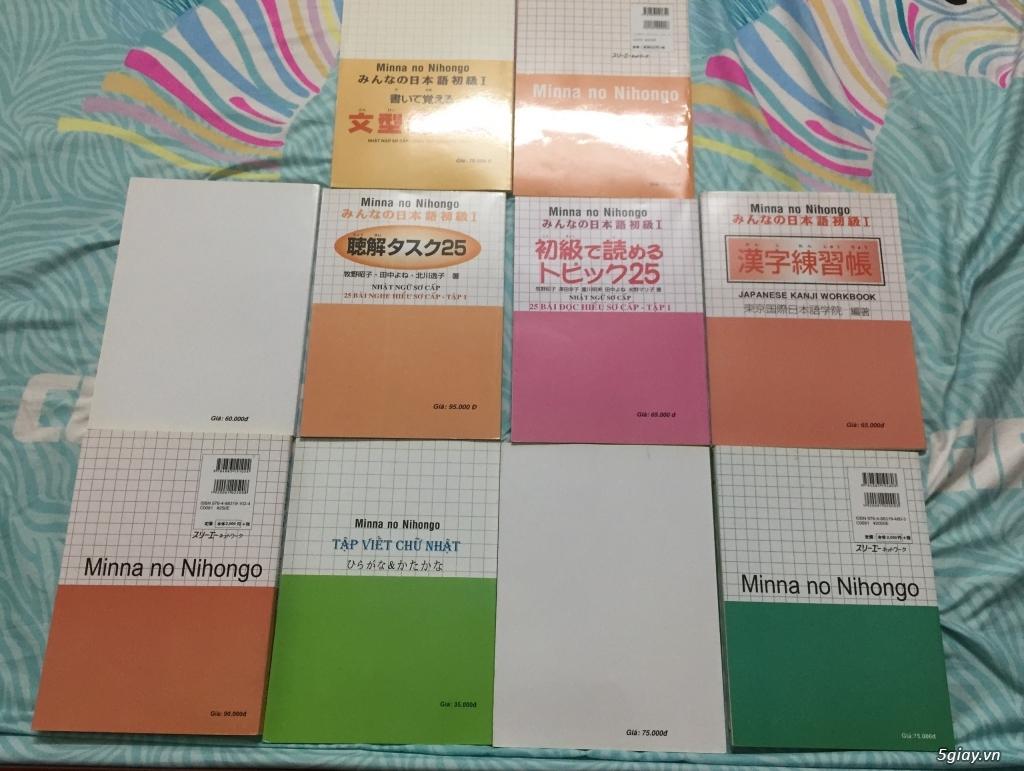 Sách học tiếng Nhật trọn bộ N5 - 7