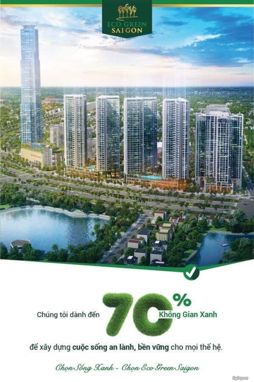 ECOGREEN Quận 7 -  Dự án 70% mảng xanh.