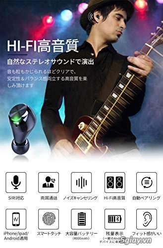 Tai nghe BLUETOOTH xách tay của Nhật - 4