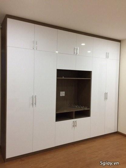 Tủ áo - tủ âm tường ,Tủ áo acrylic,Tủ quần áo laminate chống trầy - 11
