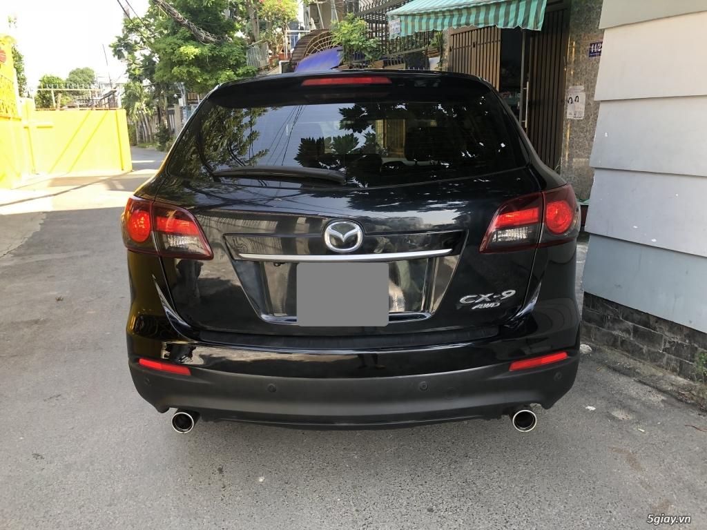 Bán Mazda CX9 màu đen 2014 xe chính chủ đi kỹ. - 9