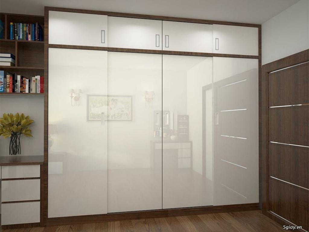 Tủ áo - tủ âm tường ,Tủ áo acrylic,Tủ quần áo laminate chống trầy - 8
