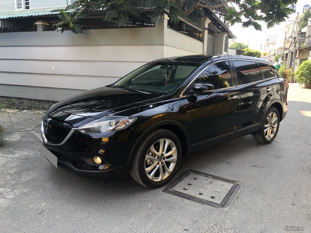 Bán Mazda CX9 màu đen 2014 xe chính chủ đi kỹ. - 1
