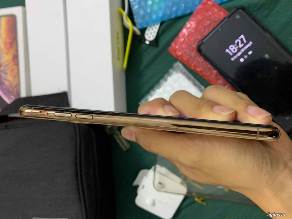 Cần Bán: iPhone XS Max 256 GB Gold 2 sim vật lí bản ZA/A - 4