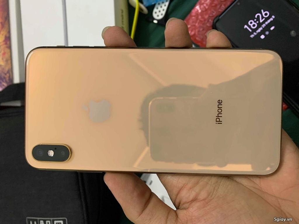 Cần Bán: iPhone XS Max 256 GB Gold 2 sim vật lí bản ZA/A