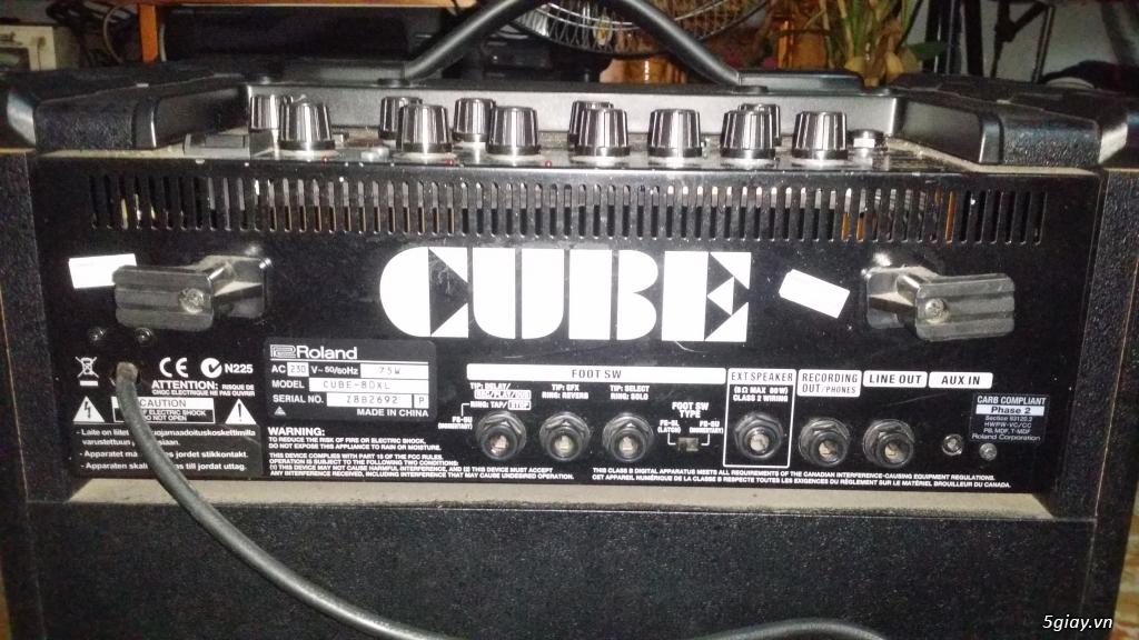 Roland Cube - 80XL mới 98% - 3