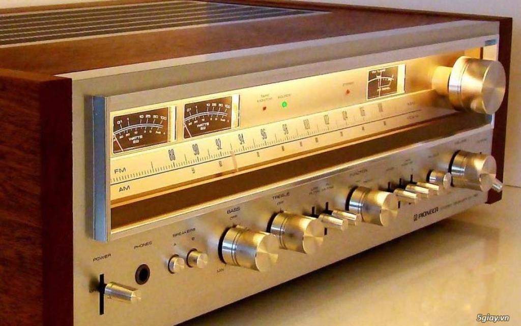 Amply Pioneer SX 780 reciever - 2