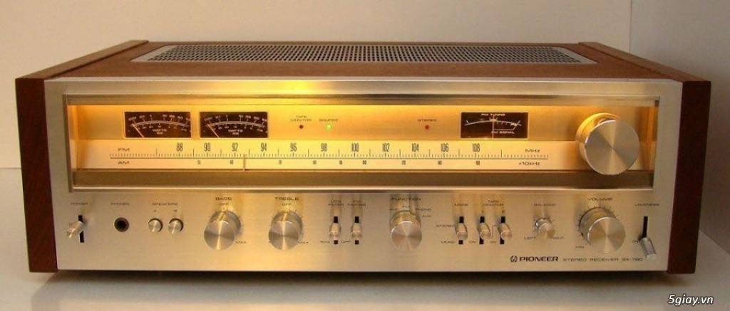 Amply Pioneer SX 780 reciever