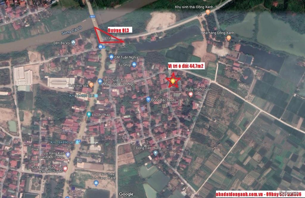Chính chủ bán mảnh đất nhỏ xinh rộng 44,7m2 giá chỉ 750tr - 2