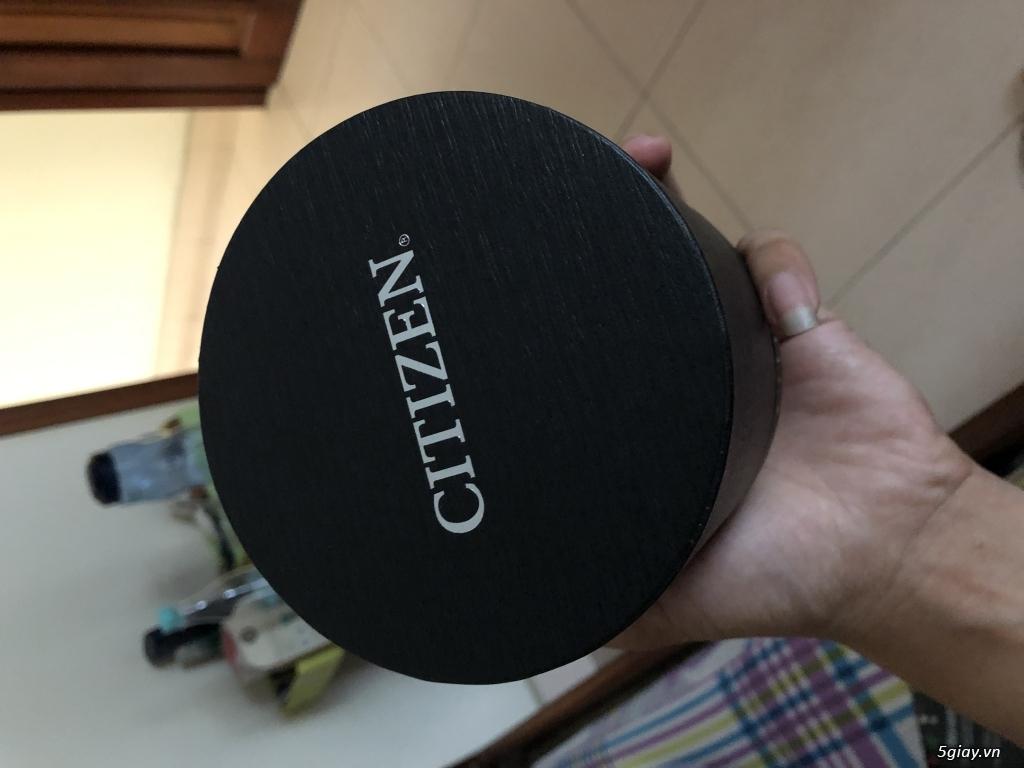 Bán đh Citizen Eco-Drive AT2205-01E new fullbox màu đen chính hãng