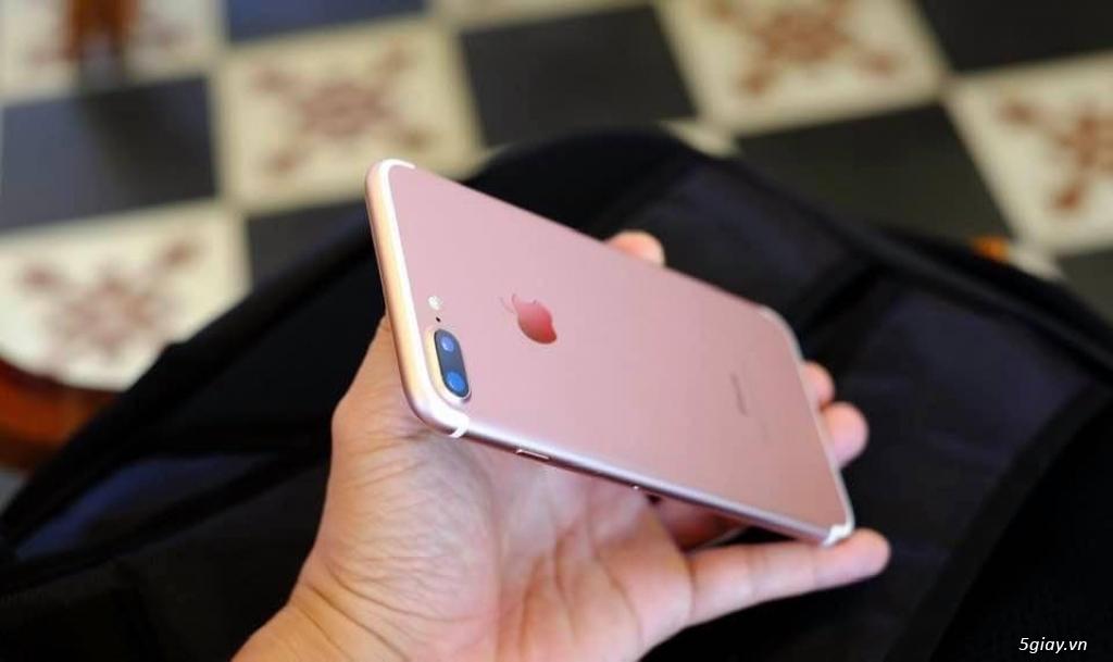 iPhone 7Plus 128Gb ROSE quốc tế Mĩ máy zin đẹp như mới.