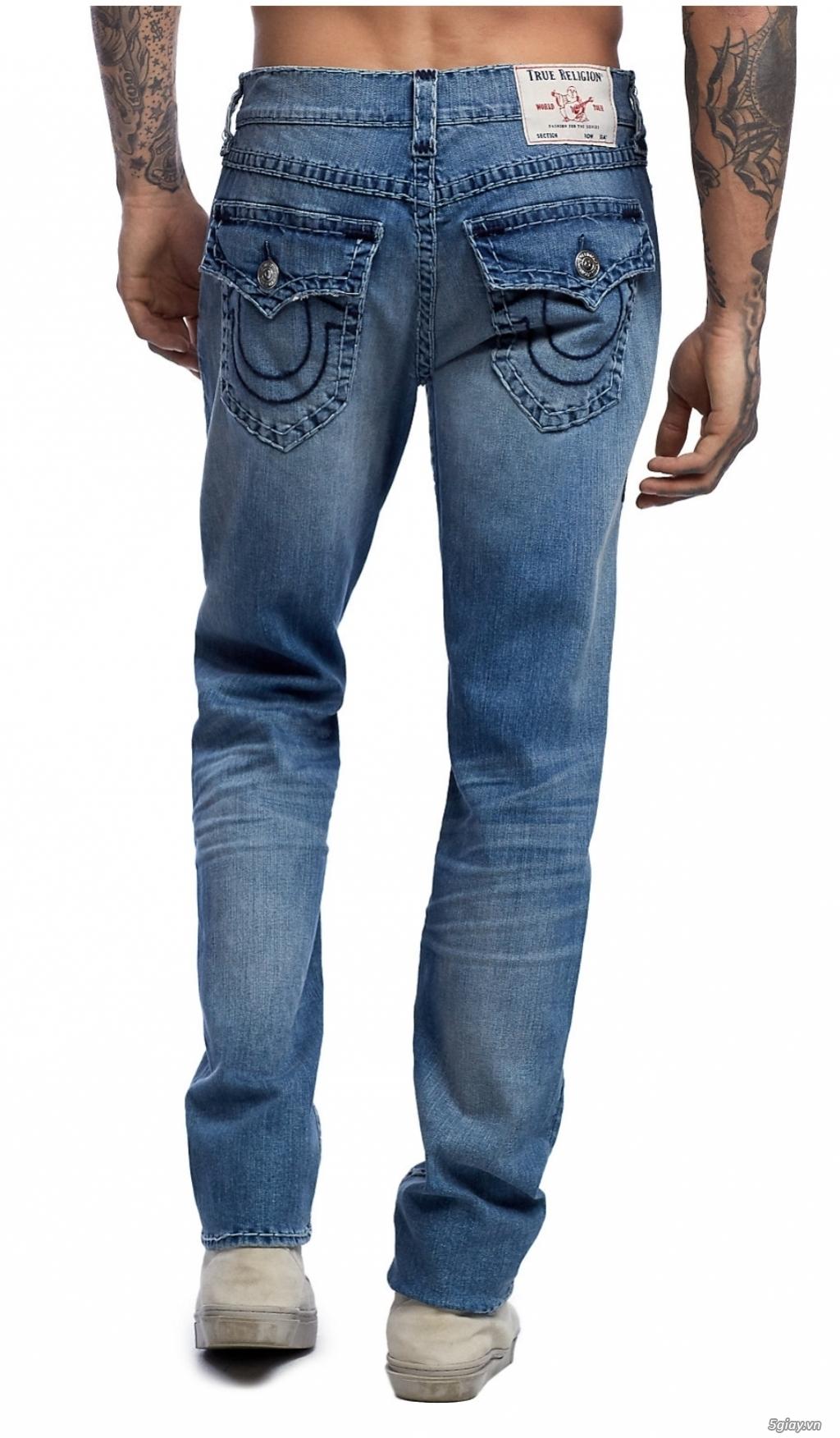 Quần Jean ông địa (True religion) hàng xách tay giá tốt - 1