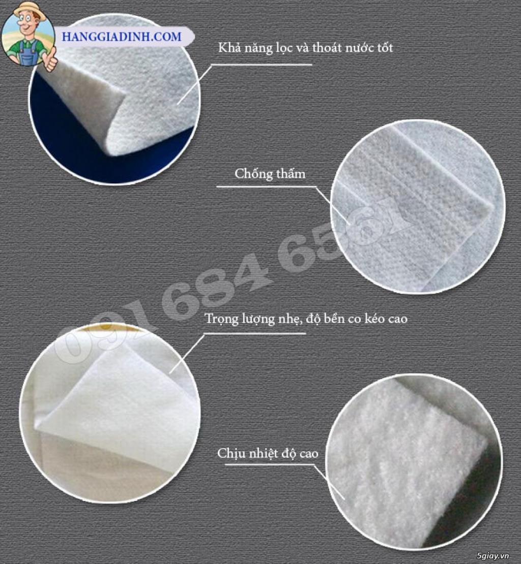Vải địa kỹ thuật Màng chống thấm tổng hợp - 12