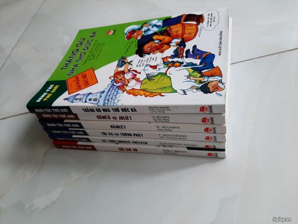 Thanh lý một số sách truyện tranh còn như mới giá tốt chỉ từ 50% - 70% giá bìa