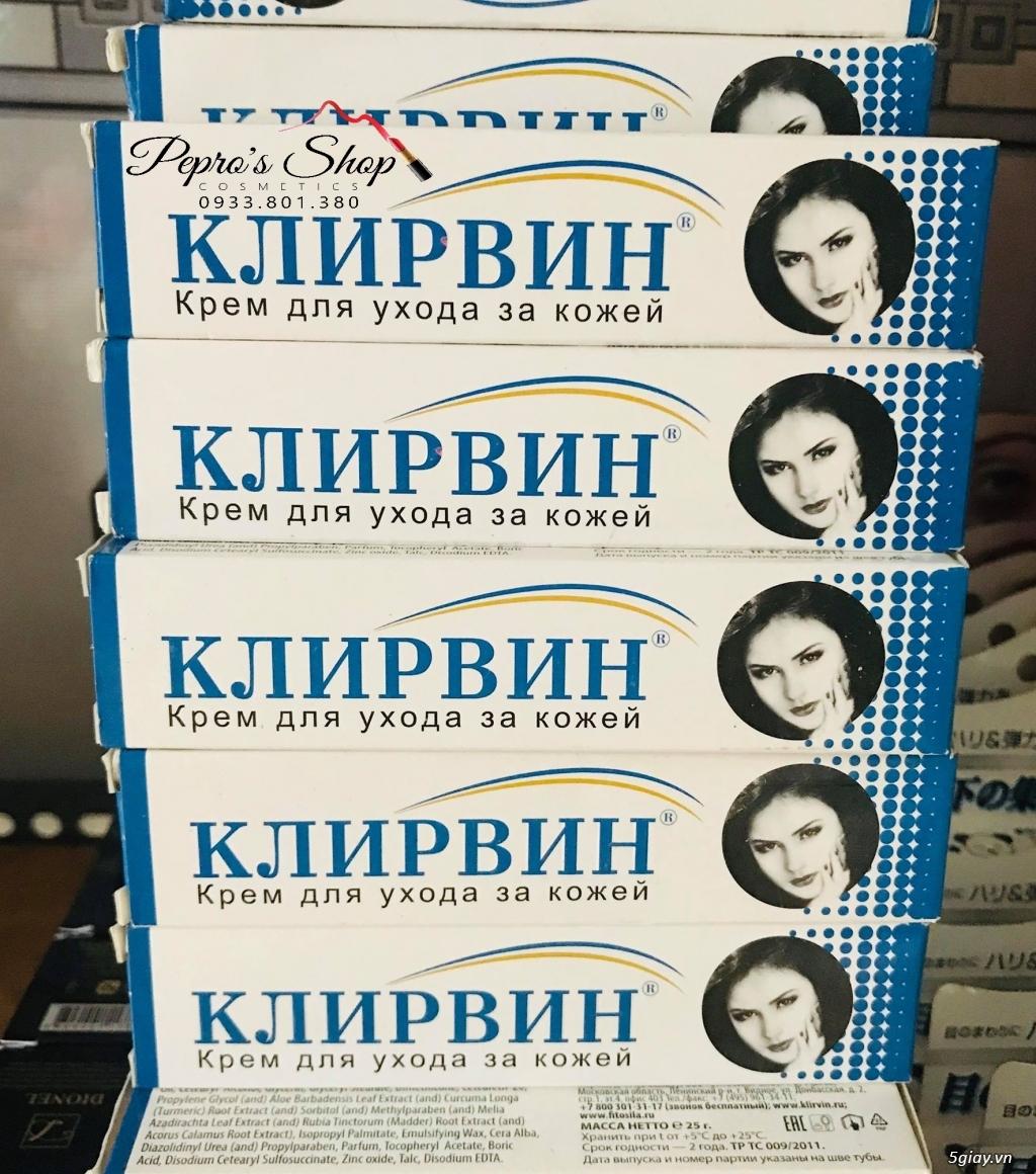 Trị rạn da , mờ sẹo với Kem trị Seo KLIRVIN của Nga