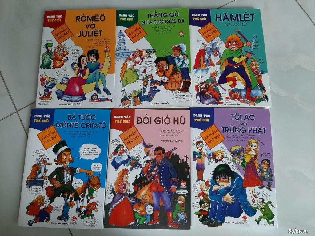 Thanh lý một số sách truyện tranh còn như mới giá tốt chỉ từ 50% - 70% giá bìa - 1