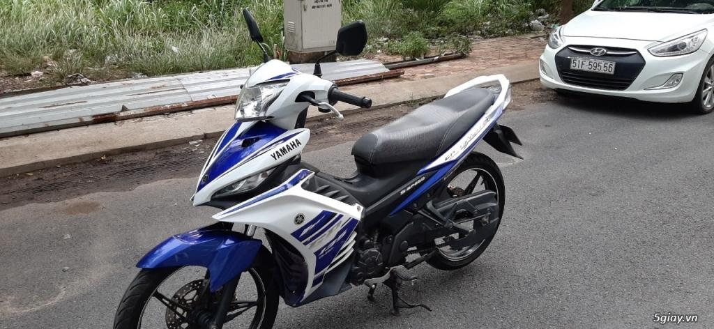 Yamaha Exciter 135 côn tay 2014, xanh GP, Bstp chính chủ