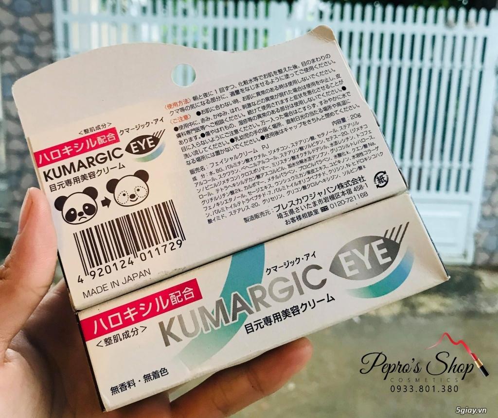 Kem Đặc Trị Thâm Quầng Mắt Kumargic Của Nhật an toàn và hiểu quả - 3