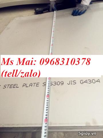 Tấm inox sus309s giá tốt từ nhà máy, lh 0968310378 - 2